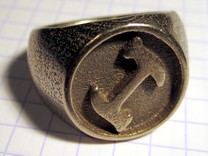 Stonecutter Ring in Stainless Steel: 8 / 56.75