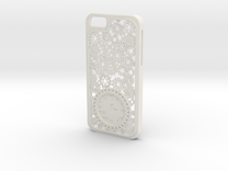 Steampunk Clock iPhone 6 Case in White Strong & Flexible
