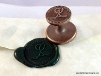"Custom Wax Seal 1"" in Stainless Steel"