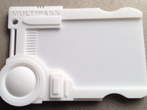 Multipass From Fifth Element #props in White Strong & Flexible Polished