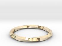 Nurbs Wedding Ring-Size 5.5 in 14K Gold