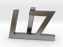 Liz in Polished Nickel Steel