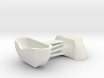 Voituré 'M' - Car Interior Flower Pot - 2 Set in White Strong & Flexible