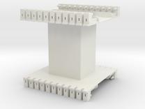 AMCC10 c-core bobbin - single chamber in White Strong & Flexible