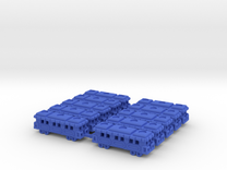 TTRCar  Dx10a in Blue Strong & Flexible Polished