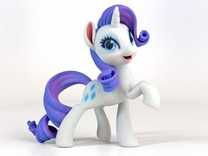My Little Pony - Rarity (4.5in Tall) in Full Color Sandstone