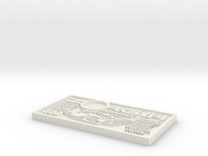 ZORG ZF-1 Embossed in White Strong & Flexible