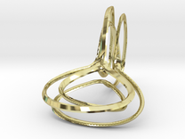 Double Loop in 18K Gold Plated