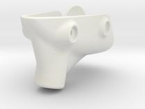 RVJET Landing Gear TRIKE (nose) in White Strong & Flexible