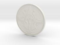 Gondorian Coin in White Strong & Flexible