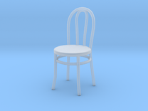 Bistro / Cafe Chair 1/32 in Frosted Ultra Detail