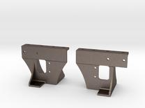 Front Runboard Bracket in Stainless Steel