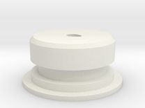 C-Cell Battery Base in White Strong & Flexible