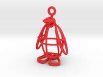 Penguin in Red Strong & Flexible Polished