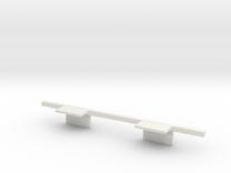 Interior Corner Bar A in White Strong & Flexible