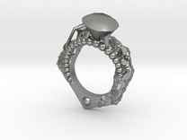 Diamonds Are Forever - Eragatory - Size 7 in Raw Silver