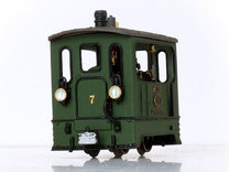 1:87 Tramway Loco no.7 Backer & Rueb in Frosted Ultra Detail