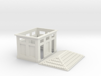 Gabinetti 1:87 in White Strong & Flexible