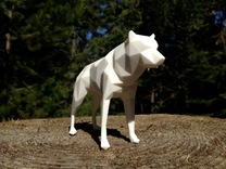 Fear of the Unknown - Wolf in White Strong & Flexible Polished
