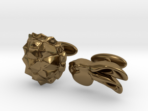 Tortoise and the Hare in Polished Bronze