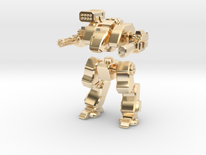 Terran Assault Walker in 14k Gold Plated