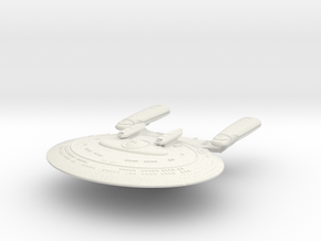 New Orleans Class Cruiser in White Strong & Flexible