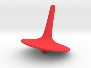 Toupie2 in Red Processed Versatile Plastic