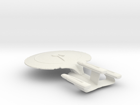 Galaxy Class Refit in White Strong & Flexible