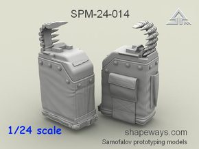 1/24 SPM-24-014 LBT MK48 Box Mag in Smoothest Fine Detail Plastic