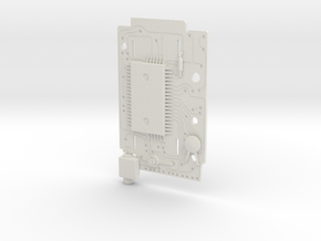 Casio MQ-1 Circuit Board in White Strong & Flexible