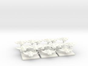 Tau Bomber Markers in White Processed Versatile Plastic