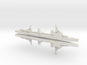 Z-45 1/1800 (Zerstörer Type 1938B) in White Natural Versatile Plastic