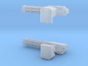 Rotary Arms in Smoothest Fine Detail Plastic