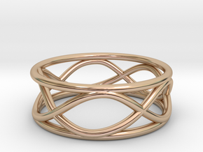 Infinity Ring- Size 5 in 14k Rose Gold