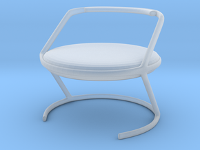 Chair No. 16 in Smooth Fine Detail Plastic