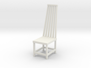 Chair No. 3 in White Natural Versatile Plastic