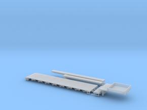 G 004-4 Tieflader ähnlich Goldhofer 8 achs V4 in Smooth Fine Detail Plastic