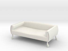 Couch No. 9 in White Natural Versatile Plastic