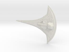 Destiny Starship in White Natural Versatile Plastic