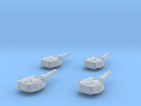 285 Mk IV Standard turret 4 Pk in Smoothest Fine Detail Plastic