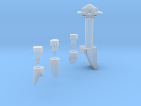 Martian Villa  Tower And Turrets in Frosted Ultra Detail