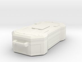 1:20 Cargobox2 in White Natural Versatile Plastic