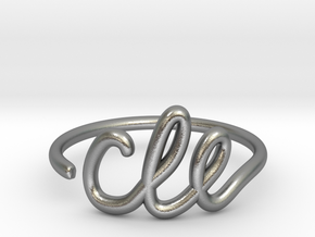 CLE Wire Ring (Adjustable) in Natural Silver