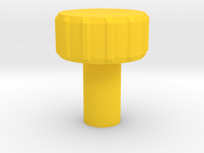 KillPlug v.3 in Yellow Strong & Flexible Polished