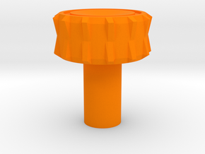 KillPlug v.5 in Orange Strong & Flexible Polished