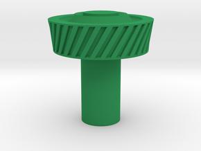 KillPlug v.4 in Green Processed Versatile Plastic