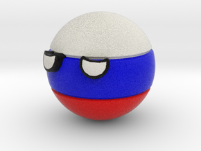 Countryballs Russia in Full Color Sandstone