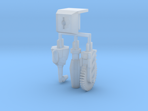Hand Mod Set For Print in Smooth Fine Detail Plastic