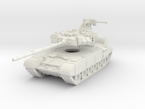 MG100-R08 T-90A MBT in White Strong & Flexible