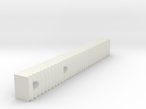 Ag1 Part Jagged Gripper Attachment Right in White Natural Versatile Plastic